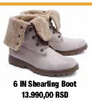 Čizme, 6 In Shearling Boot, Timberland