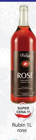 Rose vino Rubin super cena