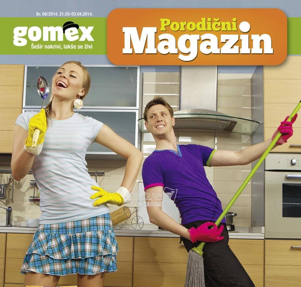 Porodični magazin Gomex