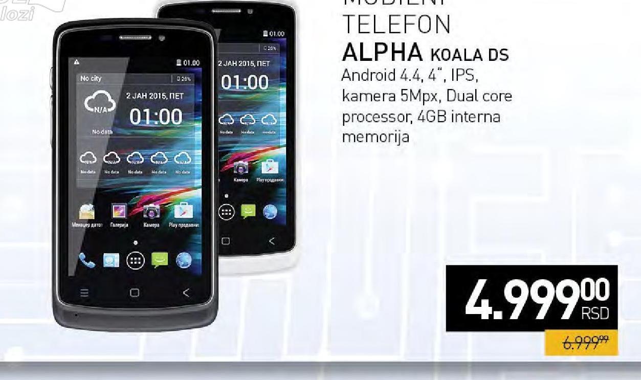 Mobilni telefon Koala DS