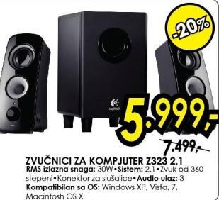 Zvučnici 2.1 Z323