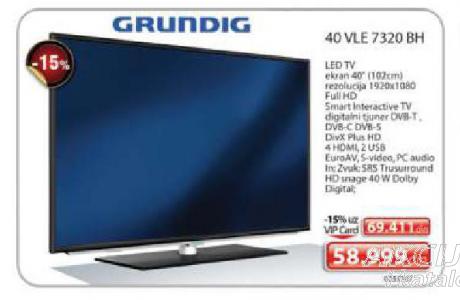 LED Televizor 40 VLE 7320 BH