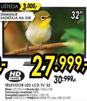 "Televizor LED 32"" Tv 32"