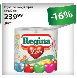 Papirni ubrus 3sl Love