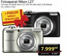 Digitalni Fotoaparat L27