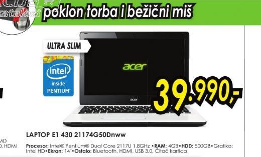 Laptop E1 430 21174G50DNWW