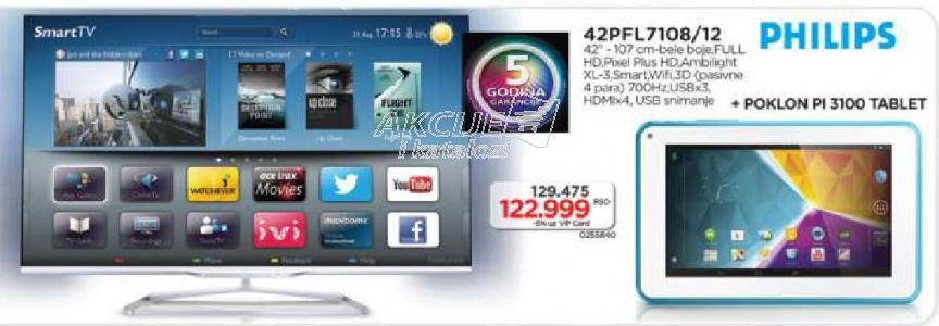 Televizor 3D LED Smart LC-60LE752