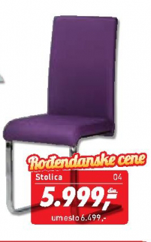 Trpezarijska stolica Anita