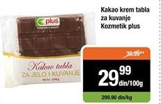 Čokolada za kuvanje