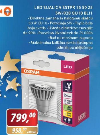 LED sijalica 828 GU10BL1