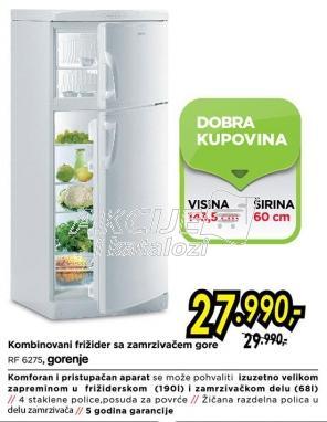Kombinovani frižider Rf 6275