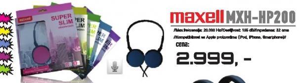 Slušalice MXH-HP200