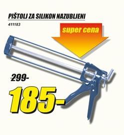 Pištolj za silikon nazubljeni