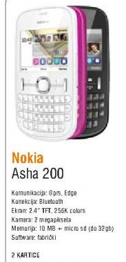 Mobilni telefon Asha 200