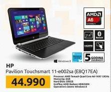 Laptop Pavilion  TouchSmart 11-e002sa