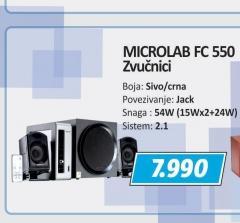 Zvučnici FC 550