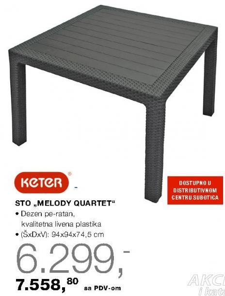 Sto Melody Quartet Keter