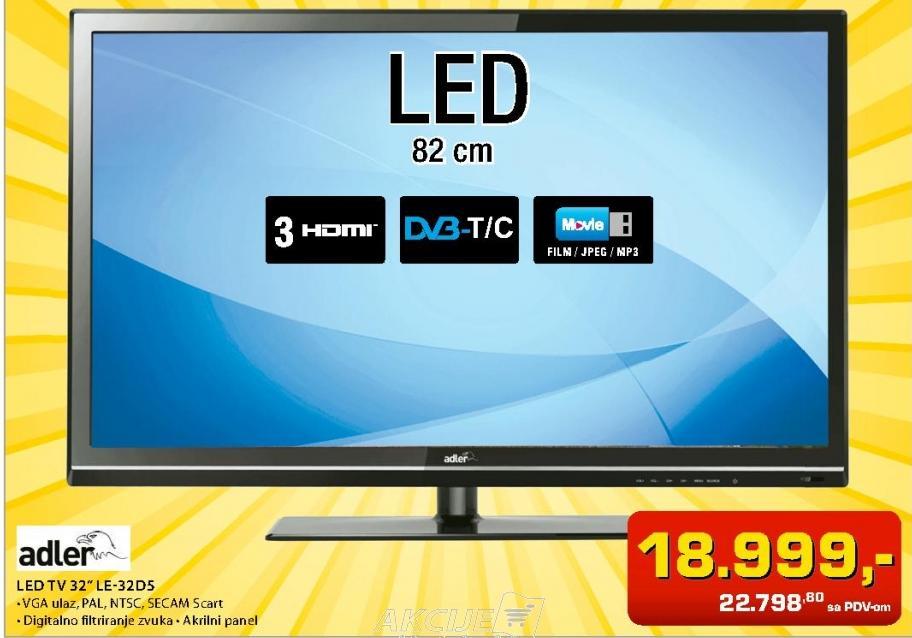 Televizor LED TV LE-32D5