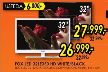 """Televizor LED 32"""" 32le350 Hd Black"""