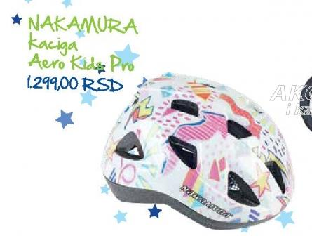 Nakamura Kaciga Aero Kids Pro