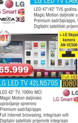 LED TV  42LN570S