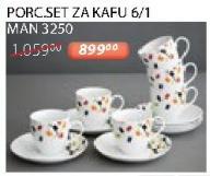 Porcelanski set za kafu 6/1 Man 3250 Sigma
