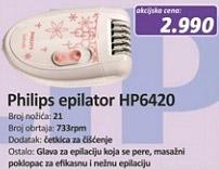 Epilator HP6420