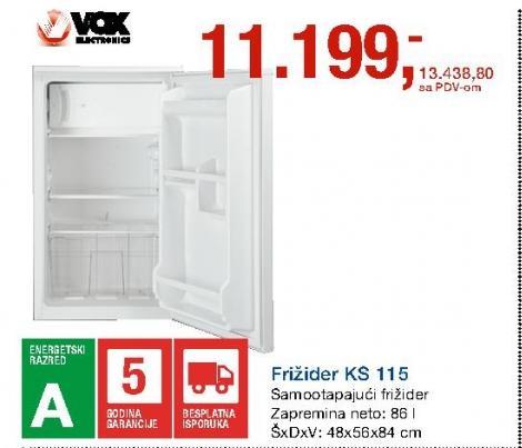 Frižider KS 115