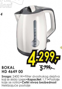 Električni Bokal HD 4649 00