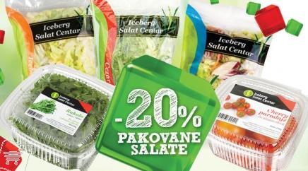 Pakovane salate