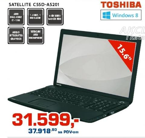 Laptop Satellite C55d-A5201