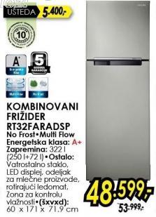 Kombinovani frižider RB32Faradsp