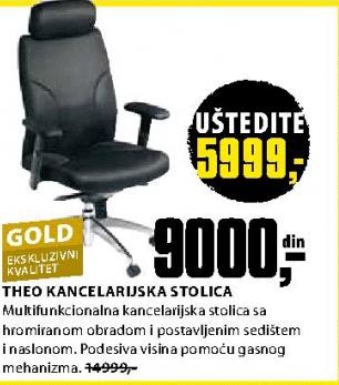 Kancelarijska stolica Theo