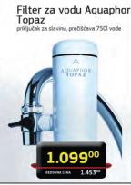 Bokal za filtriranje vode Aquaphor Topaz