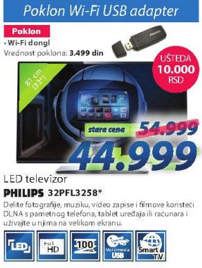 Televizor 32PFL3258H