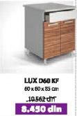Kuhinjski element LUX D60 KF