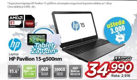 Laptop Pavilion 15-g500nm