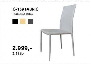 Trpezarijska stolica c-169 Fabric