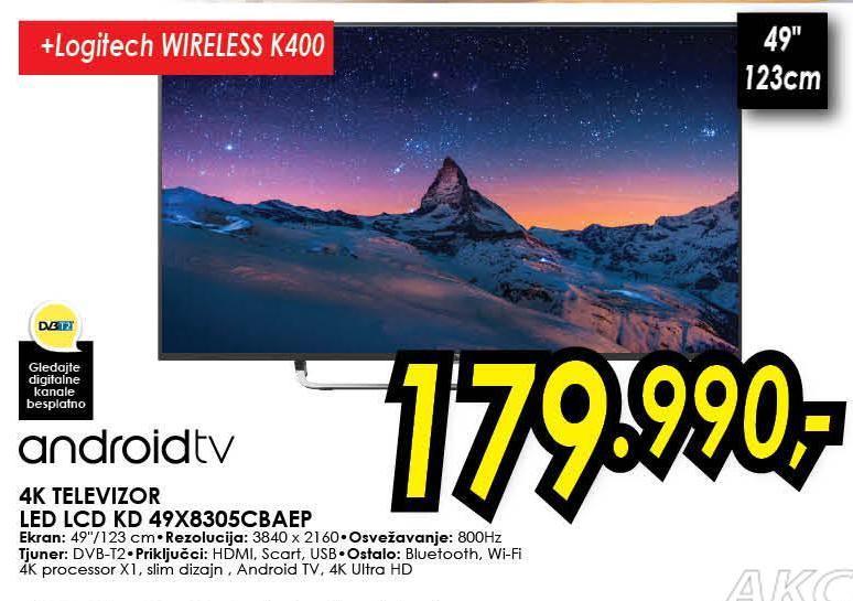 Televizor KDL49X8305CBAEP