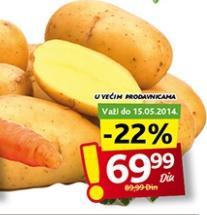 Krompir mladi