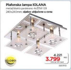 Plafonska lampa IOLANA