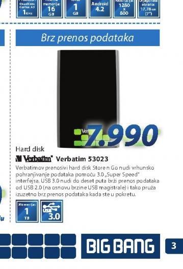 Hard disk HDD53023