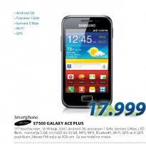 GSM Smartphone S7500 GALAXY ACE PLUS