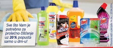 Sve što Vam je potrebno za prolećno čišćenje