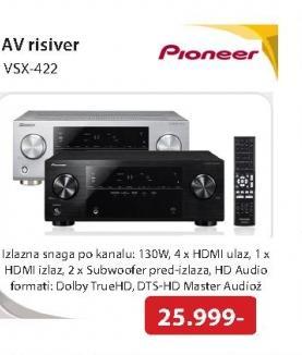 AV risiver VSX-422-K