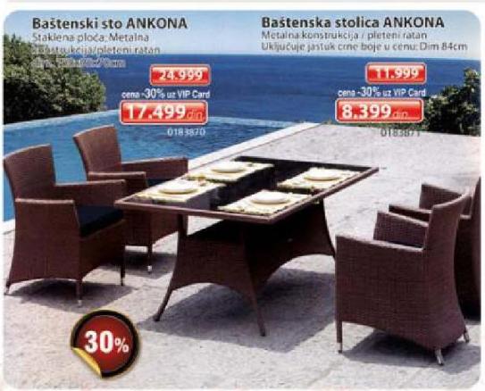 Baštenska stolica Ankona