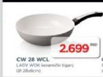 Keramički tiganj CW 28 WCL