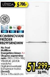 Kombinovani frižider RB29FSRNDWW