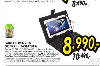 Tablet TERRA 70W