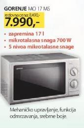 Mikrotalasna MO 17 MS